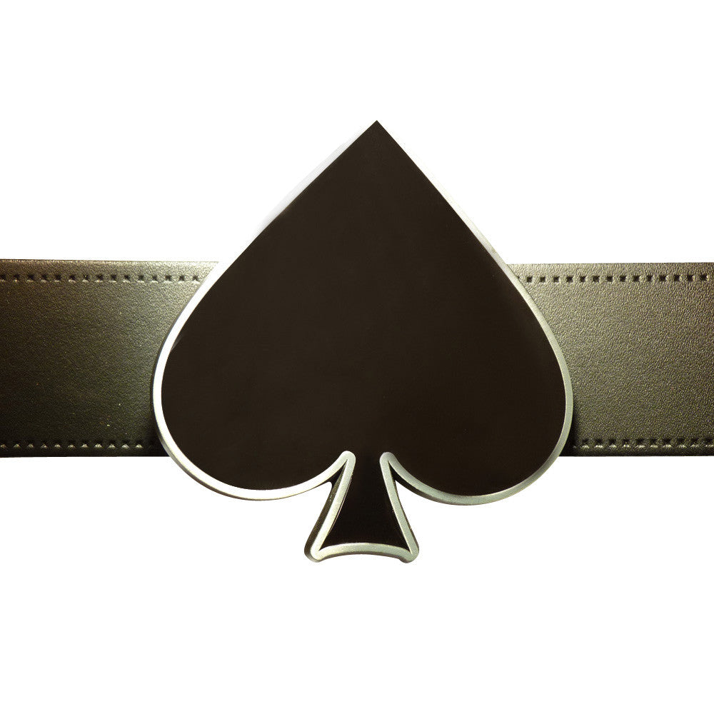 Ace of Spade Belt Buckle - Symbol - BBT Clothing