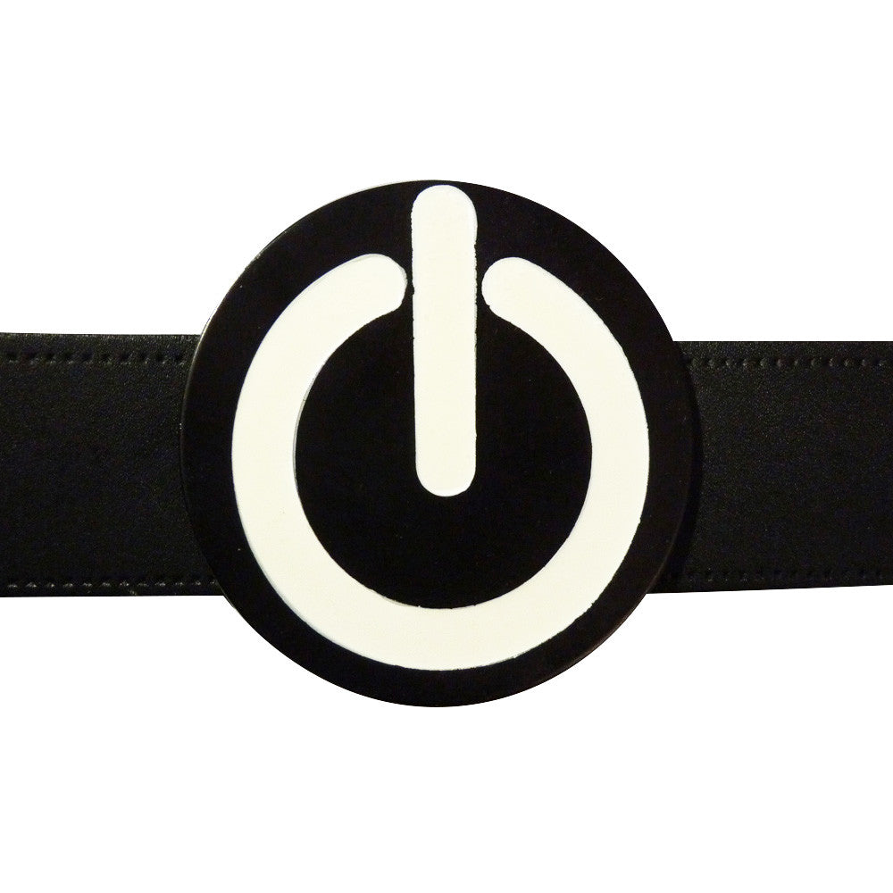 On / Off Power Belt Buckle - BBT Clothing - 3