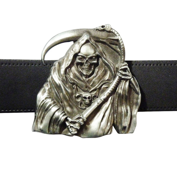 Grim Reaper Belt Buckle - BBT Clothing - 3