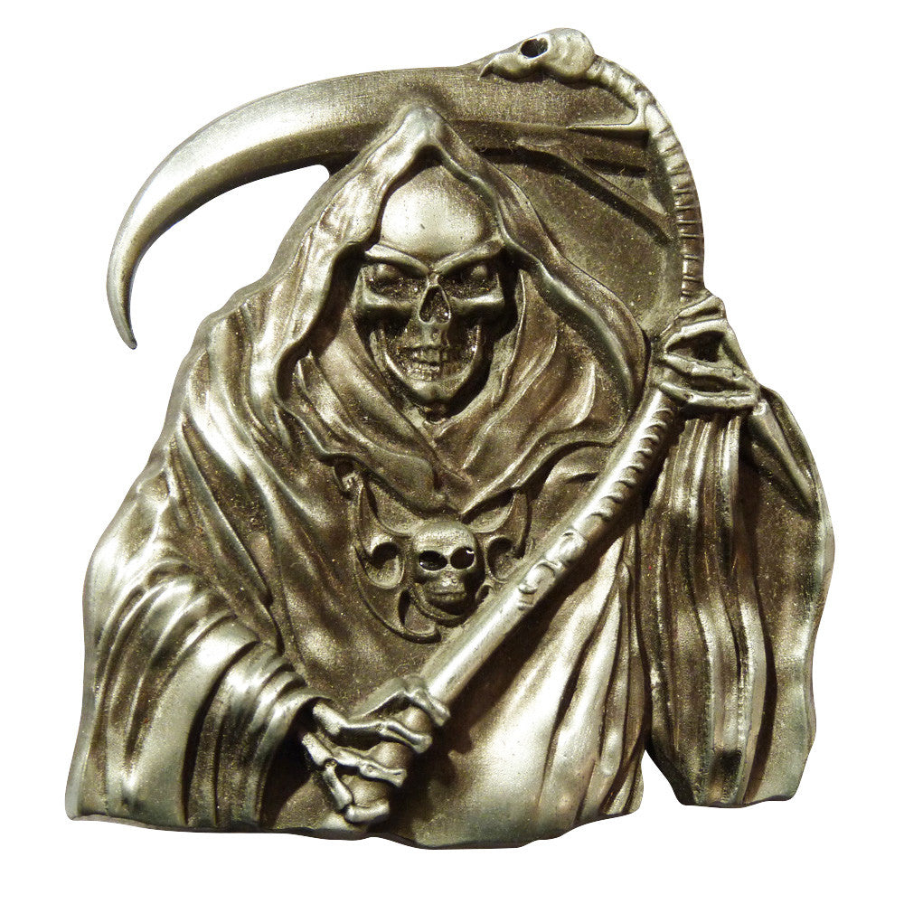 Grim Reaper Belt Buckle - BBT Clothing - 4