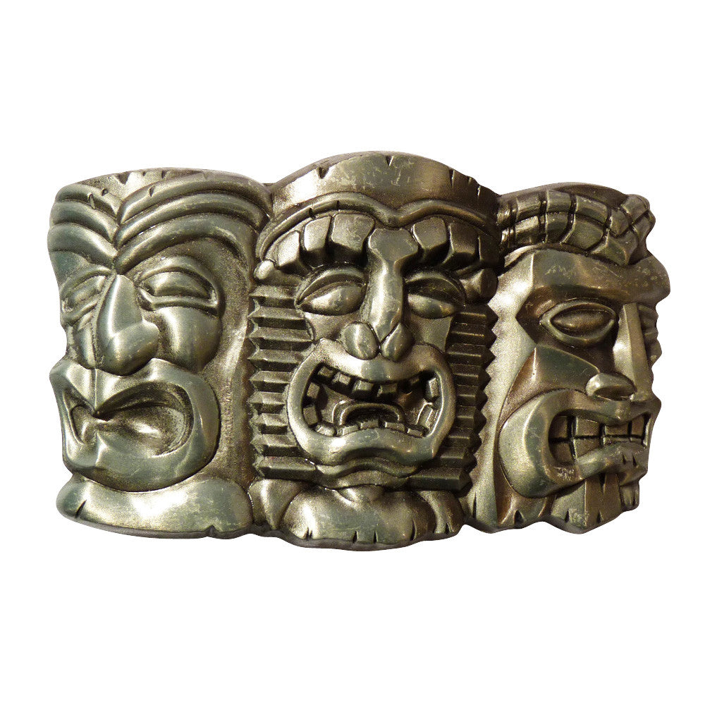 Totem Pole Heads Buckle - BBT Clothing - 2