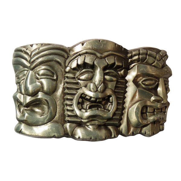 Totem Pole Heads Buckle - BBT Clothing - 1