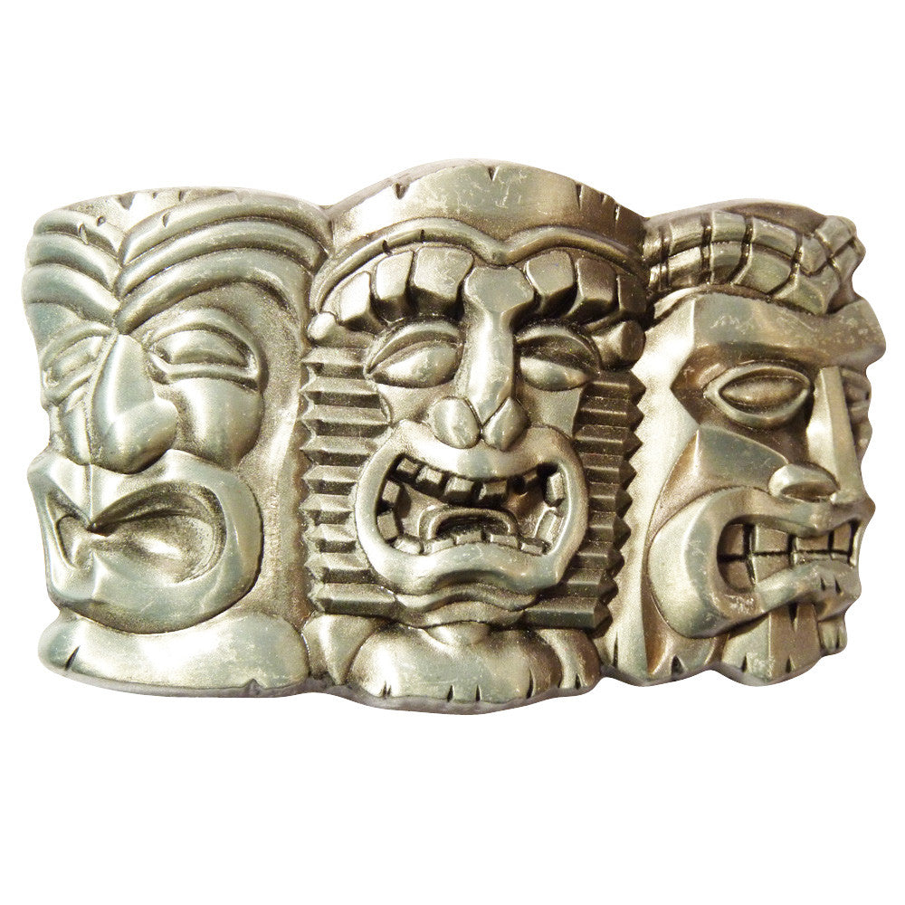 Totem Pole Heads Buckle - BBT Clothing - 4