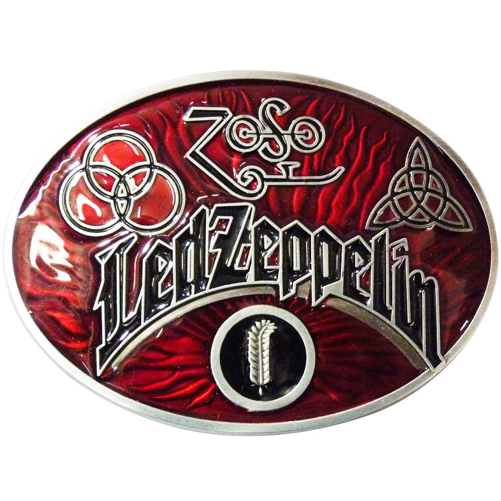 Led Zeppelin Belt Buckle - BBT Clothing - 1