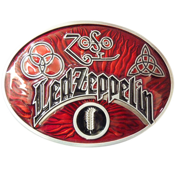 Led Zeppelin Belt Buckle - BBT Clothing - 4