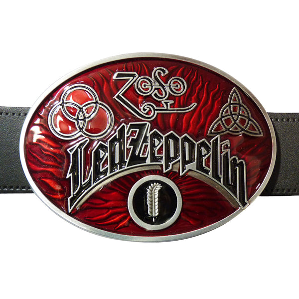 Led Zeppelin Belt Buckle - BBT Clothing - 3