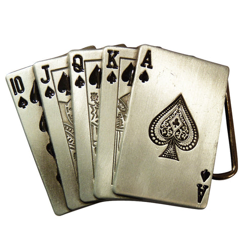 Deck of Cards Belt Buckle