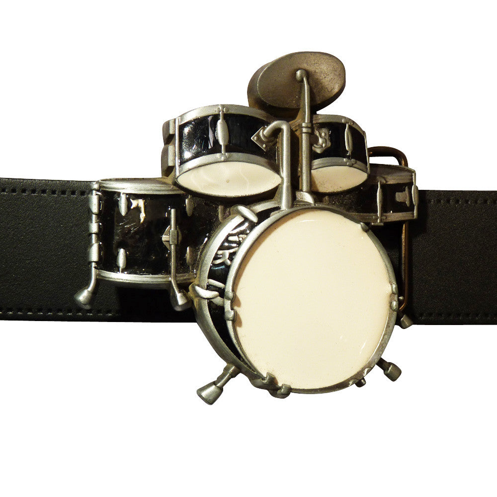 Drum Set Belt Buckle - BBT Clothing - 4