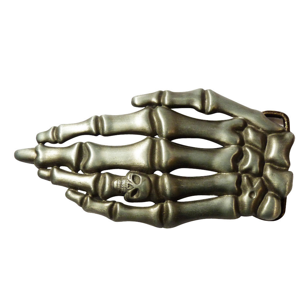 Skeleton Hand Belt Buckle - BBT Clothing - 5