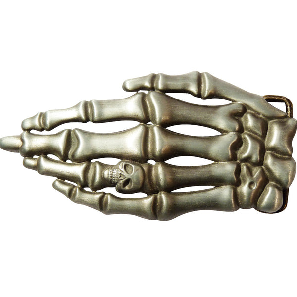 Skeleton Hand Belt Buckle - BBT Clothing - 1
