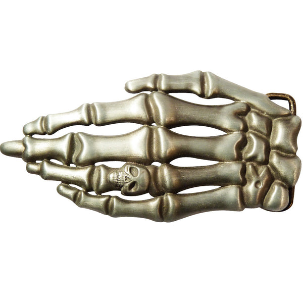Skeleton Hand Belt Buckle - BBT Clothing - 2