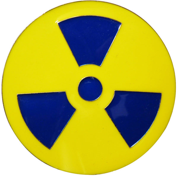 Radioactive Symbol Belt Buckle - BBT Clothing - 1