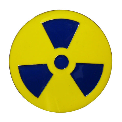 Radioactive Symbol Belt Buckle