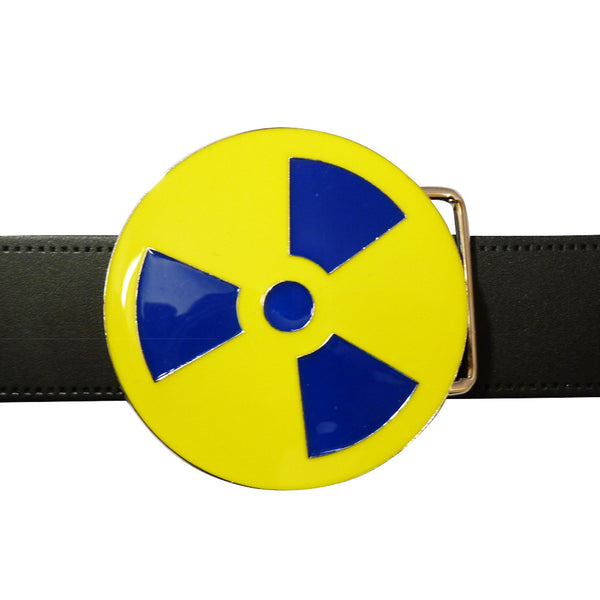 Radioactive Symbol Belt Buckle - BBT Clothing - 3