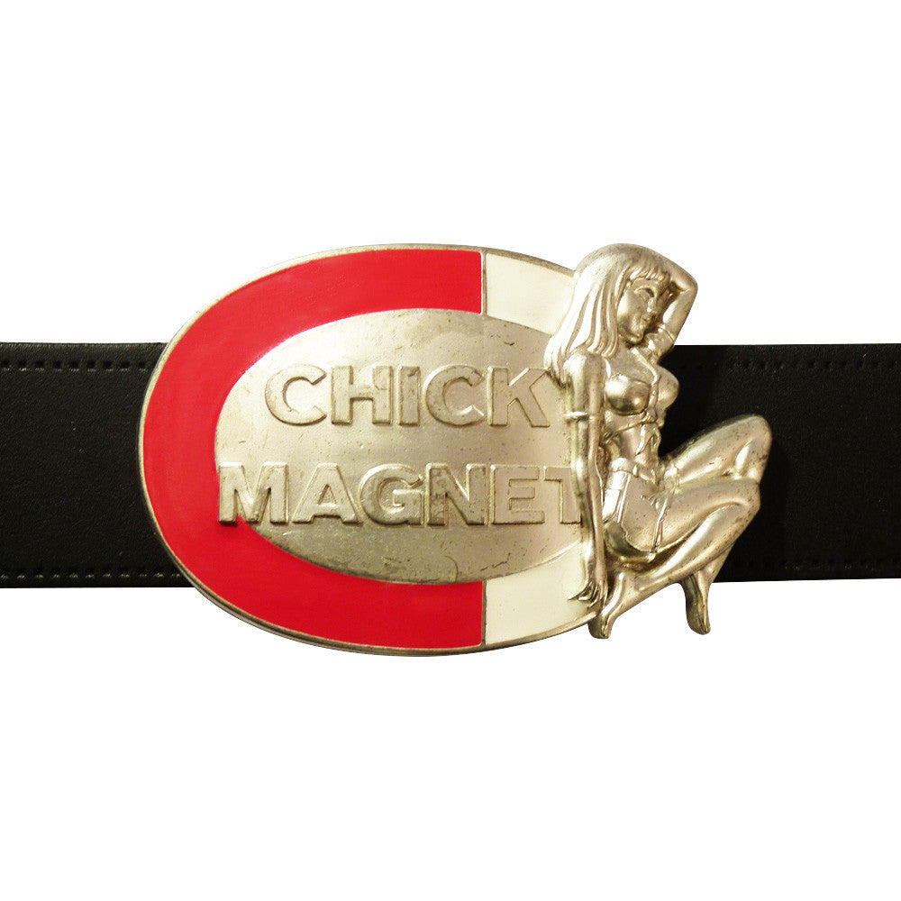 Chick Magnet Belt Buckle - BBT Clothing