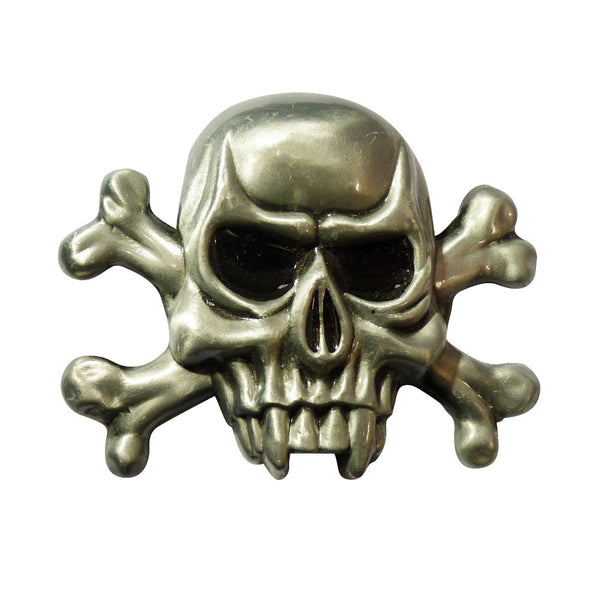 Fang Skull Belt Buckle - BBT Clothing - 1