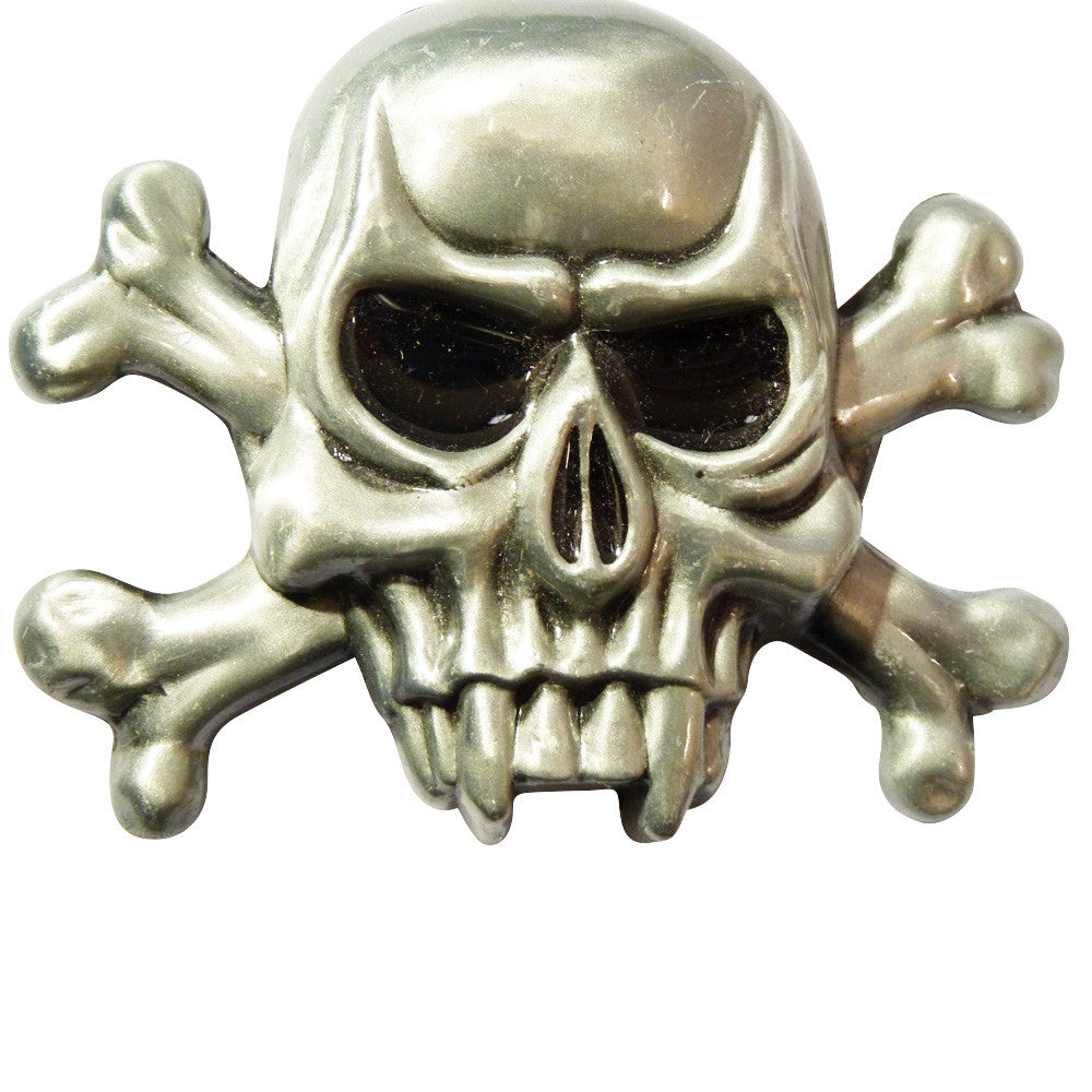 Fang Skull Belt Buckle - BBT Clothing - 2