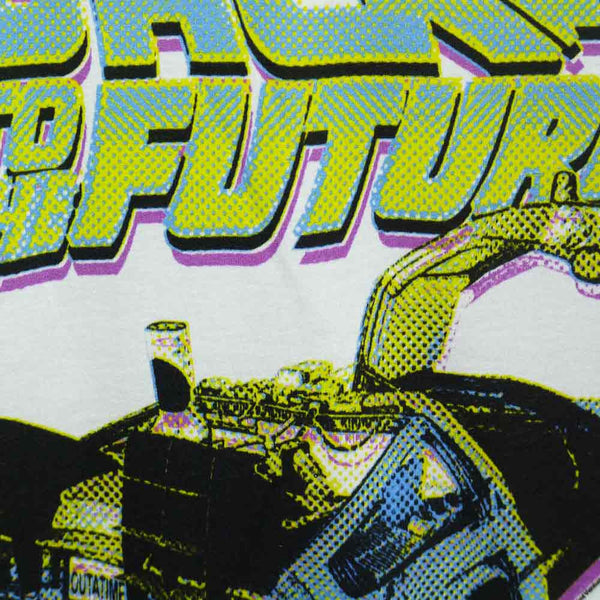 Back To The Future T-Shirt - Ladies Neon - BBT Clothing - 3