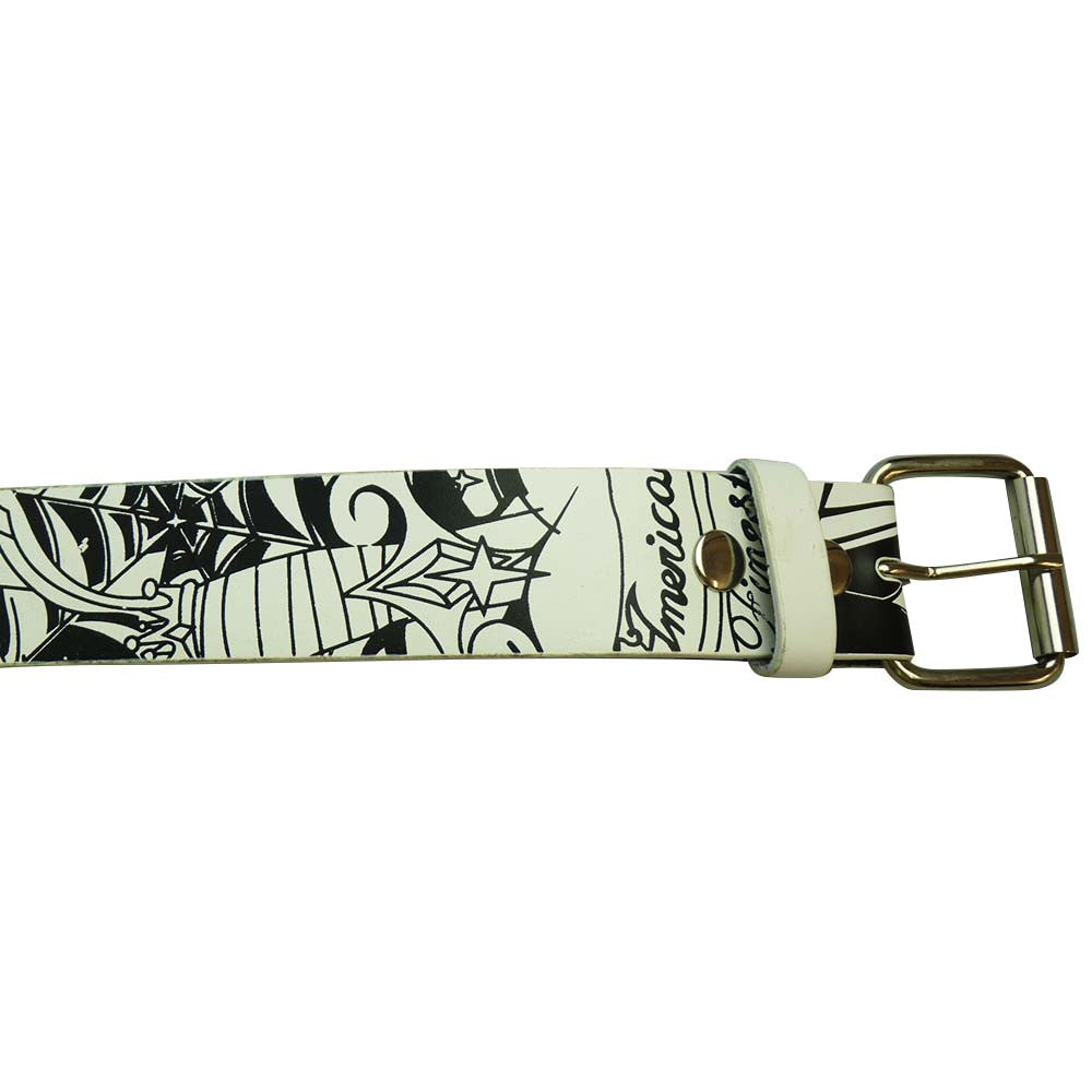Printed Belt - Spider Web - BBT Clothing - 2