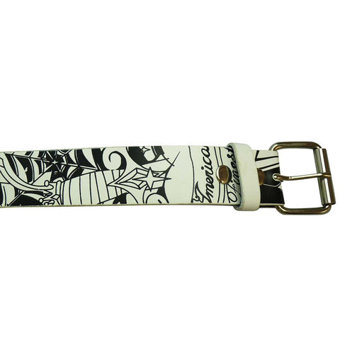 Printed Belt - Spider Web