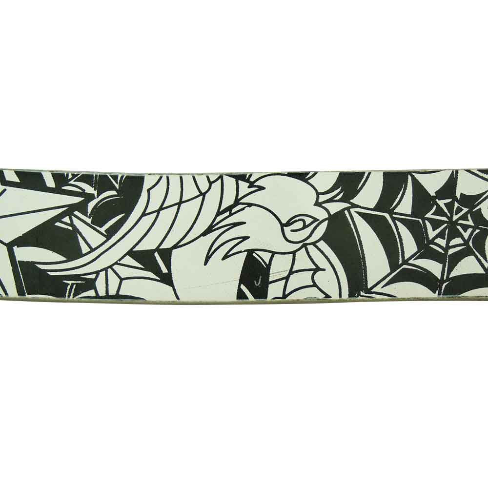 Printed Belt - Spider Web - BBT Clothing - 1