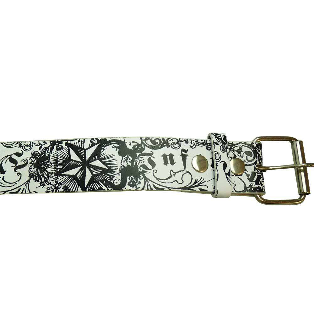 Printed Belt - Infamous - BBT Clothing - 2