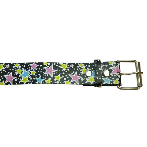 Star Design Printed Belt in Multi Colours