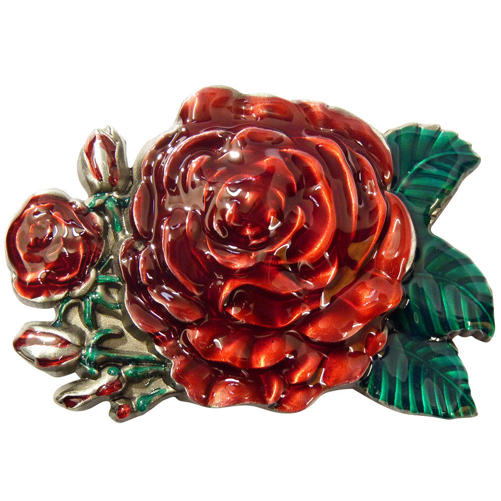 Rose Belt Buckle - BBT Clothing - 1