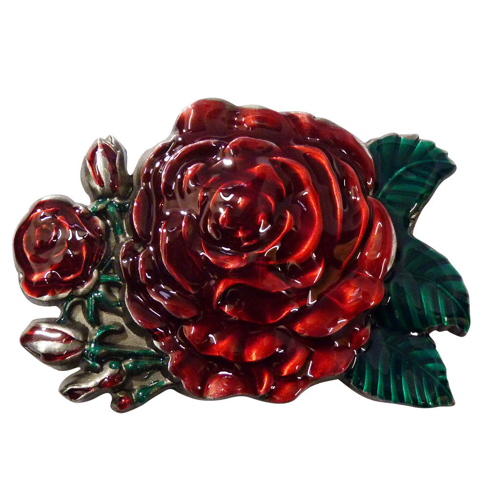 Rose Belt Buckle - BBT Clothing - 2