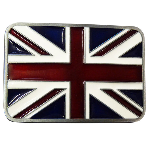 Union Jack Belt Buckle - BBT Clothing - 1