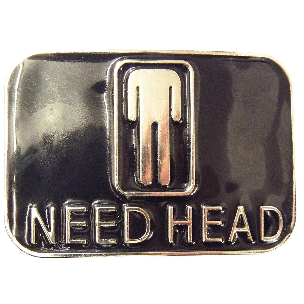 Need Head Belt Buckle - BBT Clothing - 1