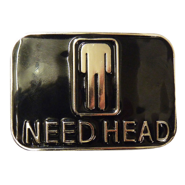 Need Head Belt Buckle - BBT Clothing - 2