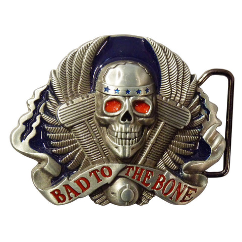 Bike Belt Buckle - Bad to the bone