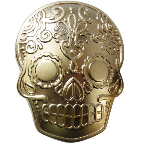 Skull Belt Buckle - Tattoo