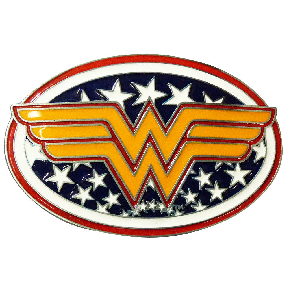 Wonder Woman Belt Buckle - BBT Clothing - 2