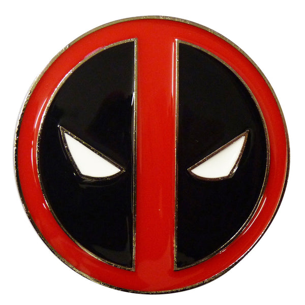 Deadpool Belt Buckle - logo - BBT Clothing - 1