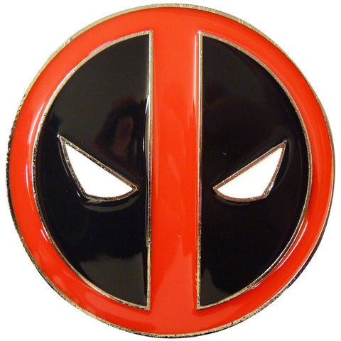 Deadpool Belt Buckle - logo