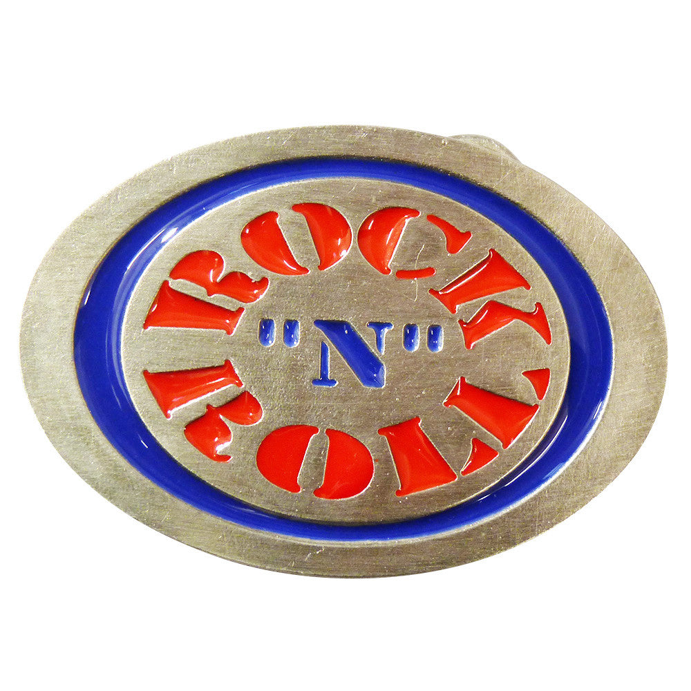 Rock n Roll Logo Belt BuckleRock n Roll Logo Belt Buckle - BBT Clothing - 2