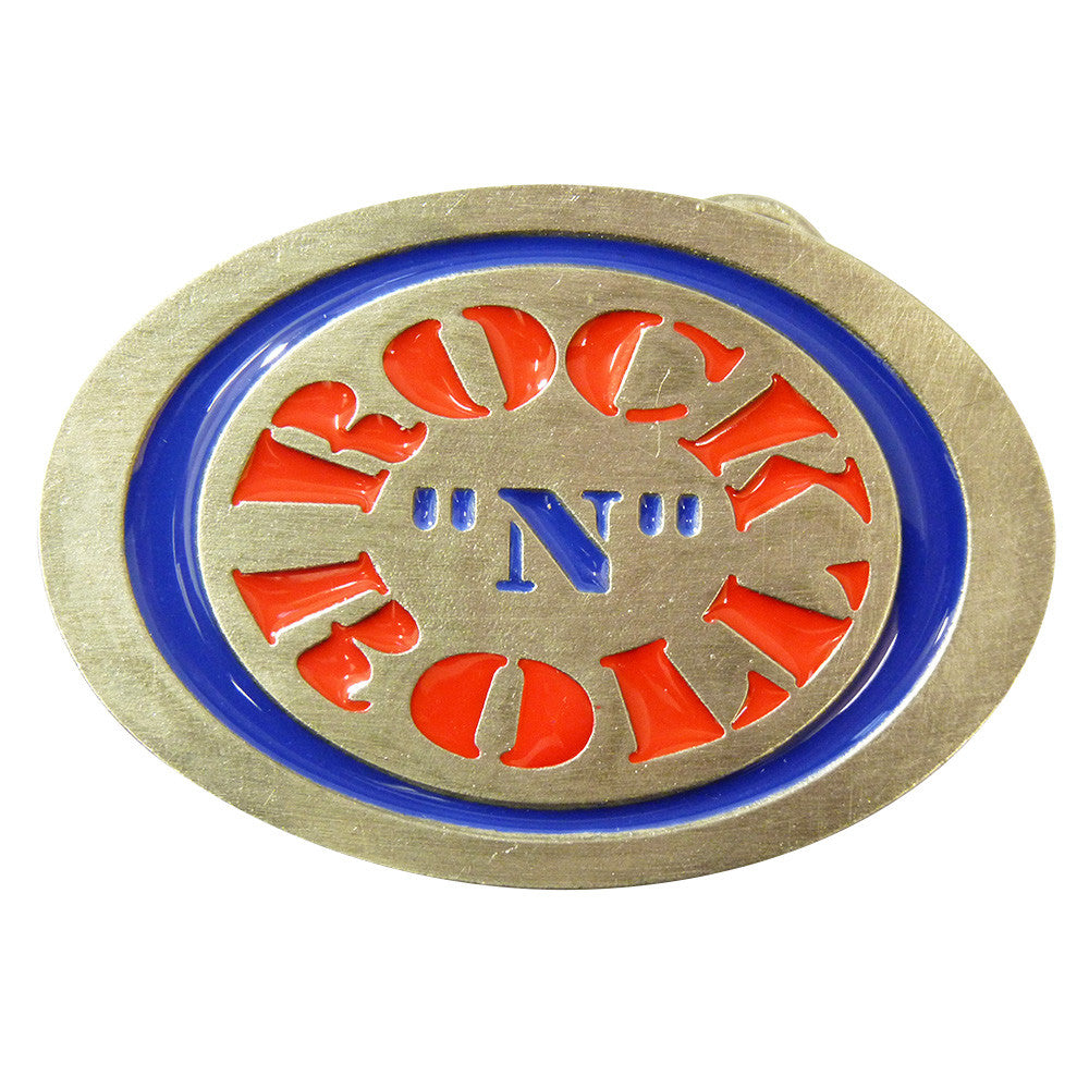 Rock n Roll Logo Belt BuckleRock n Roll Logo Belt Buckle - BBT Clothing - 1