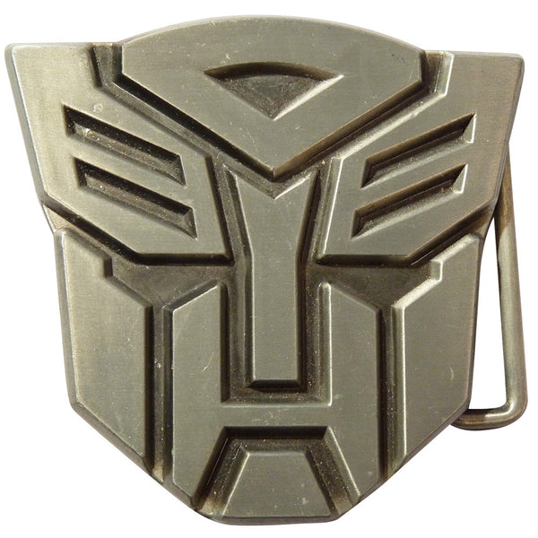 Transformers Belt Buckle  - Autobot Metal Finish - BBT Clothing - 2
