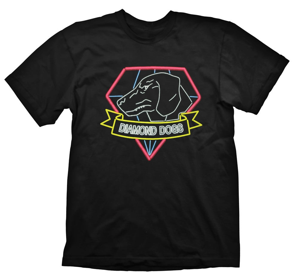 Metal Gear Solid T-Shirt - Diamond Dogs Neon - BBT Clothing