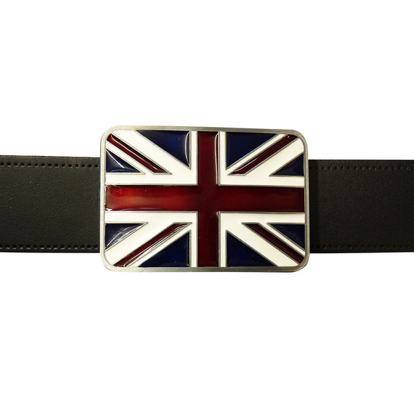 Union Jack Belt Buckle - BBT Clothing - 3