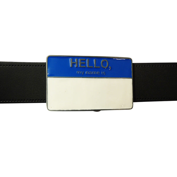 Hello My Name Is Belt Buckle - BBT Clothing - 3