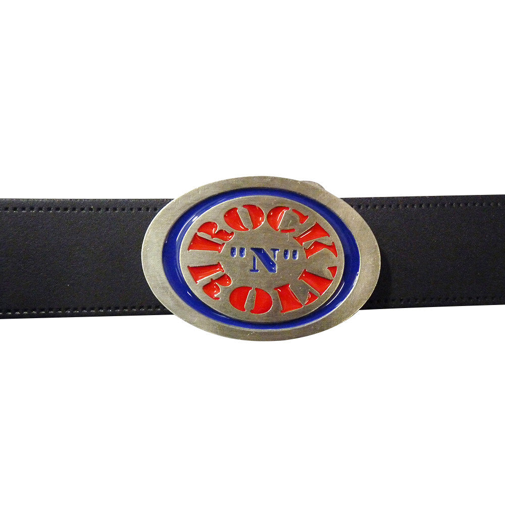 Rock n Roll Logo Belt BuckleRock n Roll Logo Belt Buckle - BBT Clothing - 3