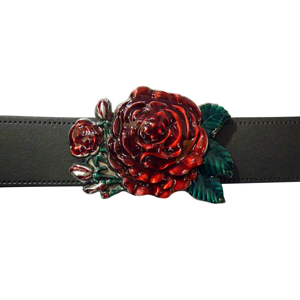 Rose Belt Buckle - BBT Clothing - 3