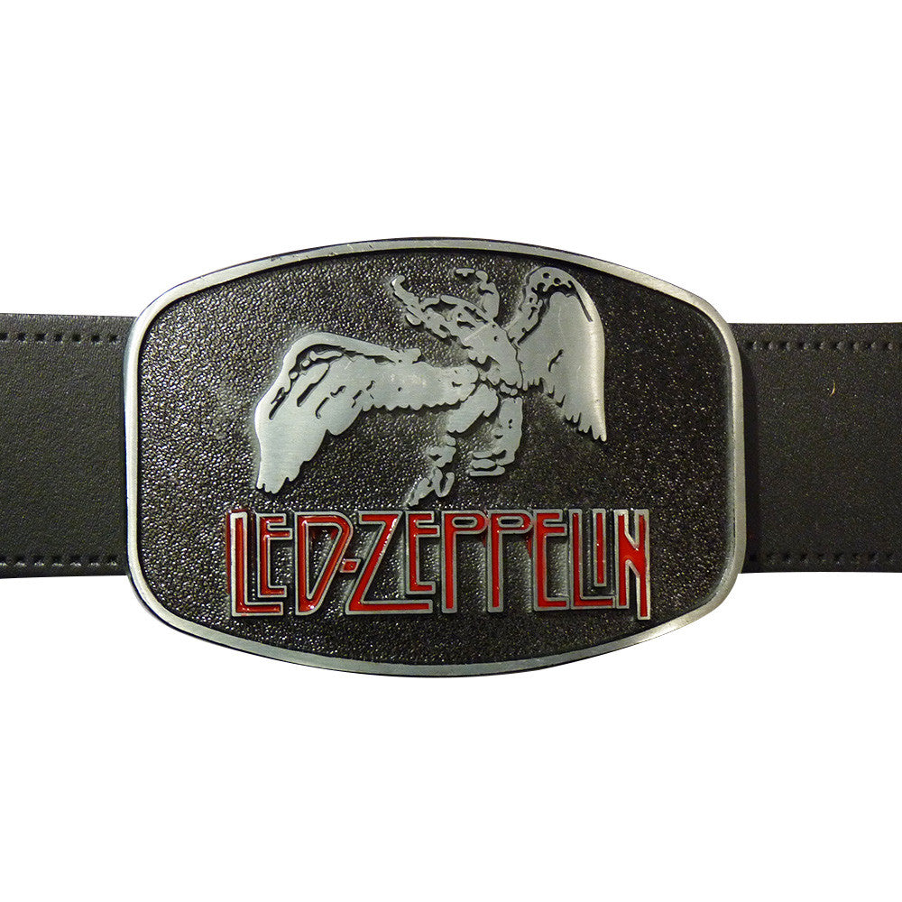 Led Zeppelin Belt Buckle - Metal Finish - BBT Clothing - 2