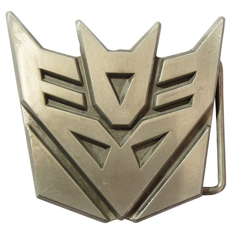 Transformers Belt Buckle - Decepticon Metal Finish