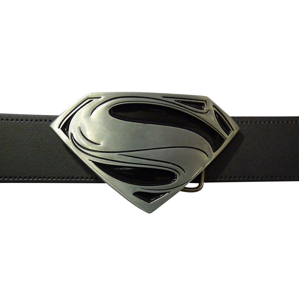 Superman Belt Buckle - Man of Steel - BBT Clothing - 3