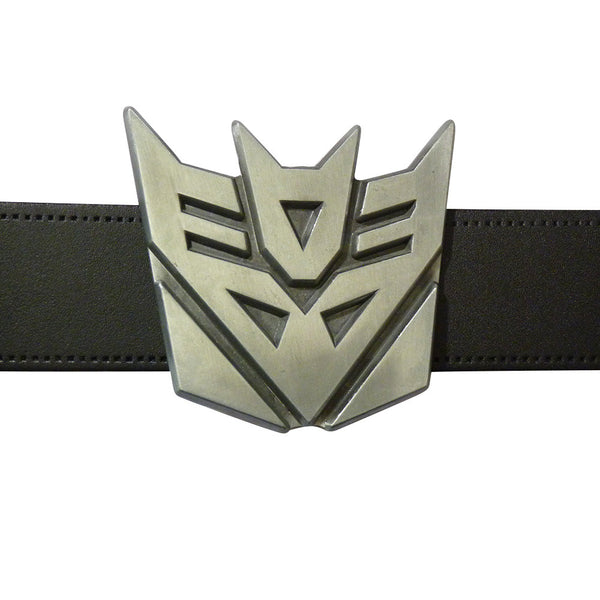 Transformers Belt Buckle - Decepticon Metal Finish - BBT Clothing - 4