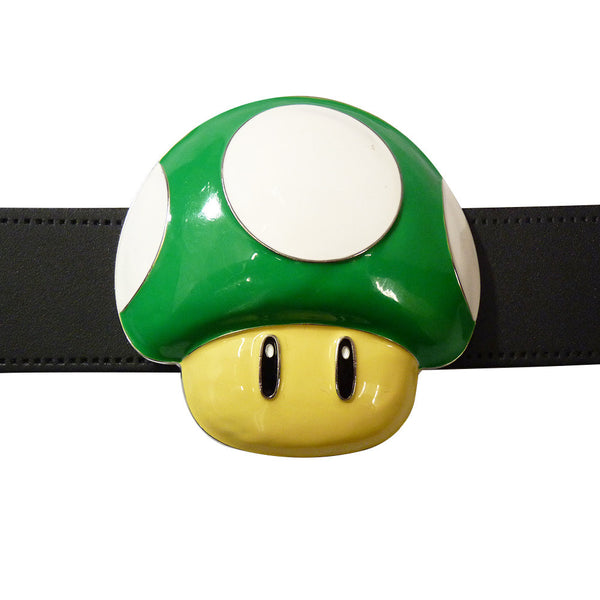 Nintendo Mushroom Belt Buckle - green - BBT Clothing - 3